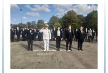 19 Eylül Gaziler Günü Atatürk Anıtı'nda Kutlandı
