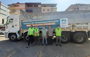 Pendik Belediyesi Giresun'daki Afedzedeleri de Unutmadı