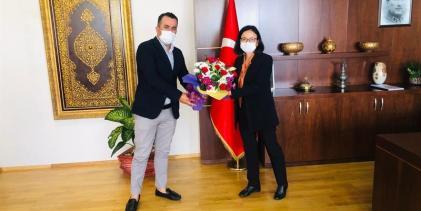 KAIDER'den Kaymakam Dr. Hülya Kaya'ya Hayırlı Olsun Ziyareti