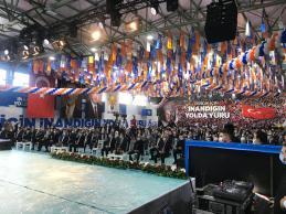 AK Parti Pendik 6. Olağan Kongresi Yapıldı   Yeni Başkan Ali Şirin