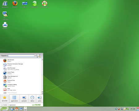 Install SUSE To A USB Flash Drive Using The CD USB Pen