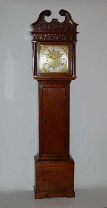 Lovely oak clock by Edward Bilbie