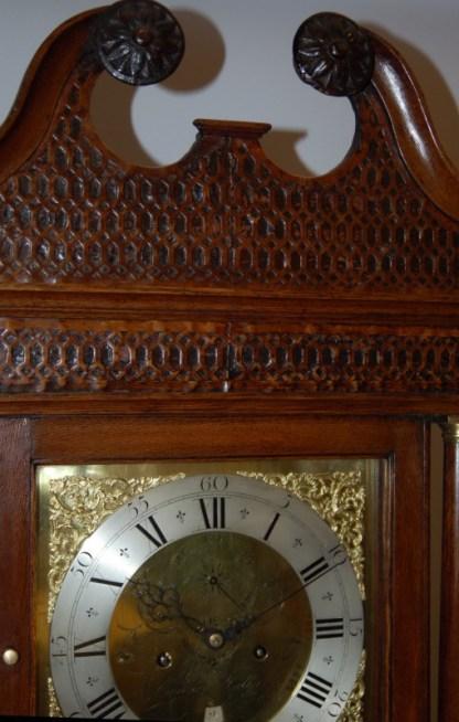 Edward Bilbie clock case