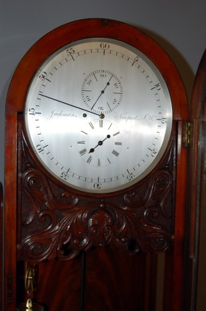 lovely round brass silvered dial