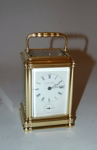 lovely striking carriage clock