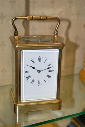 C1880 French 8 day carriage clock