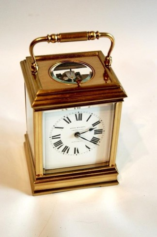 John Walker French Carriage Clock