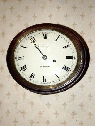 Tucker fusee dial clock