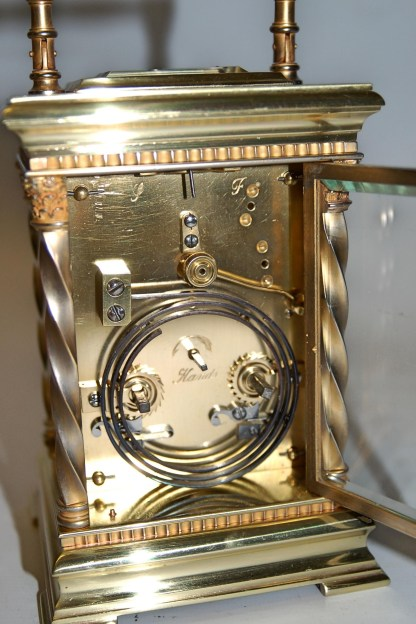 carriage clock movement