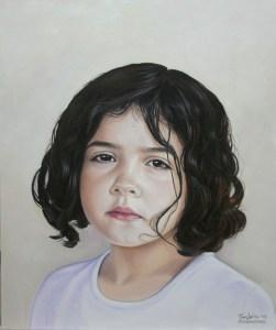 portraits in oil color on canvas - Penelope Constantinou Art