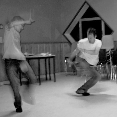 Jogando Capoeira