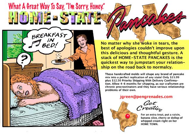 Home State Pancakes | PEN GRENADES: Comics & Blogs