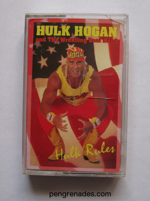 hulk hogan cassette tape - hulk rules