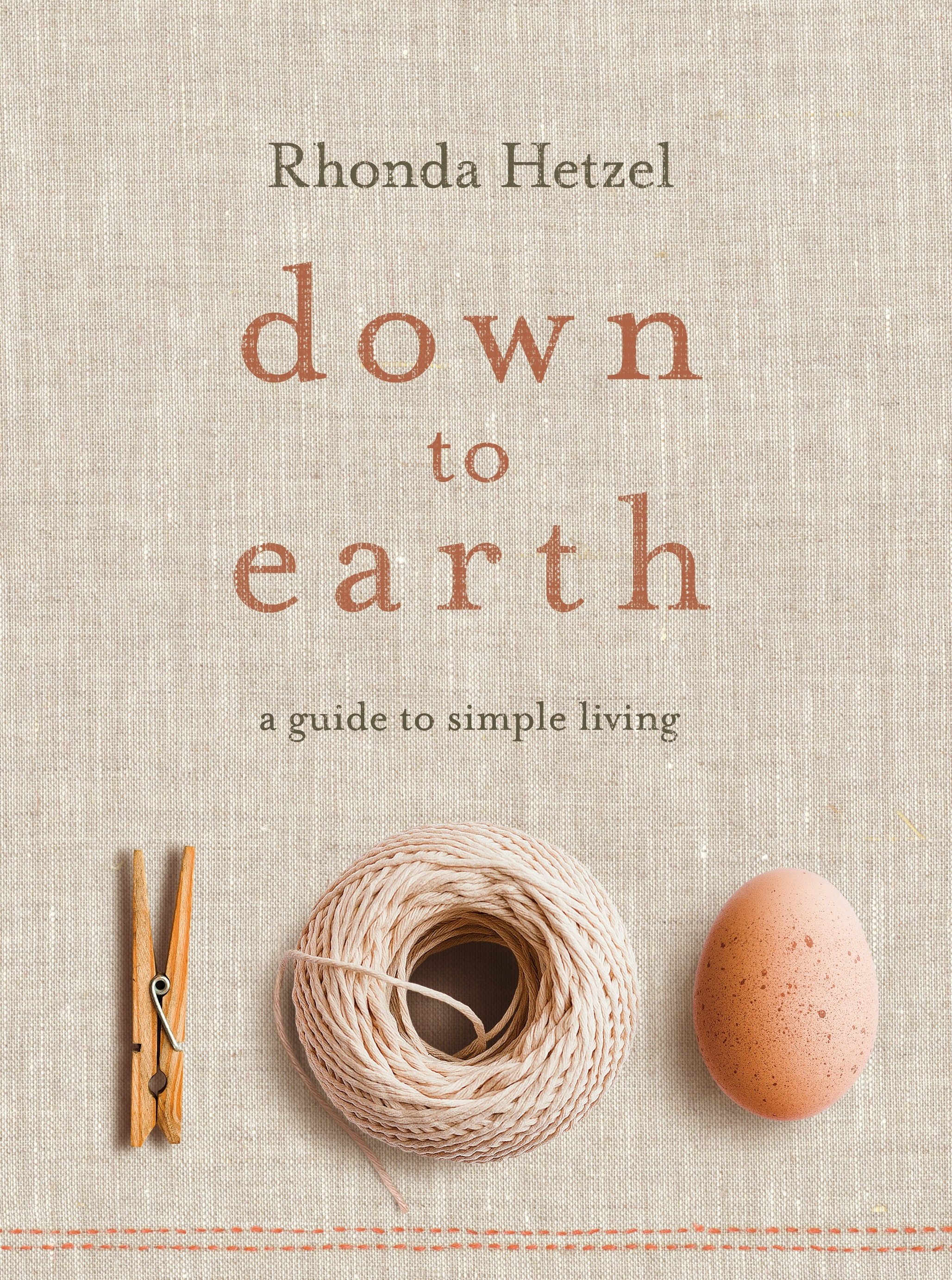 Book Cover:  Down to Earth