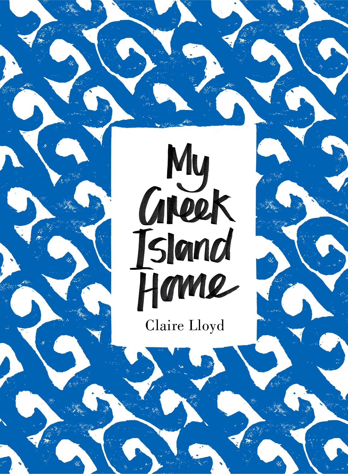 Book Cover:  My Greek Island Home
