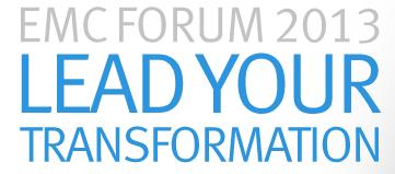EMCForum2013