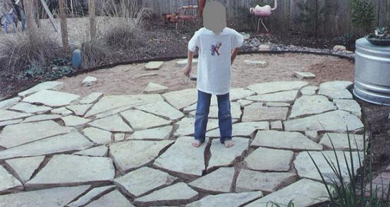 how to lay a flagstone patio for