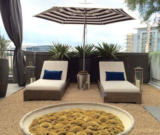 Rh Austin Rooftop Garden Showcases Contemporary Outdoor Furniture