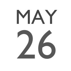 HL MAY 26
