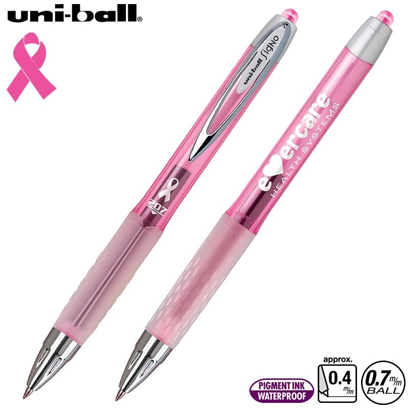 Ink Pen Silver Uni Ball