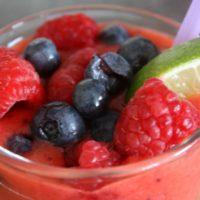 fruit and sugar