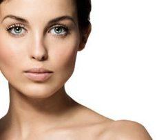 Beautiful woman cropped