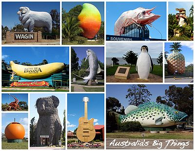 There's big random crap all over Australia.  Photo: Wikipedia