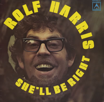 Rolf's 1975 Album, She'll be Right... wait, what?