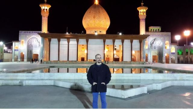 At the Shah e-Charagh, Shiraz. Photo: Peninsularity Ensues