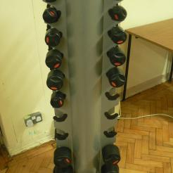 Dumbell rack