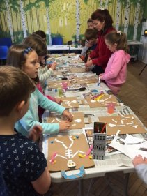 Children at Art Explosion