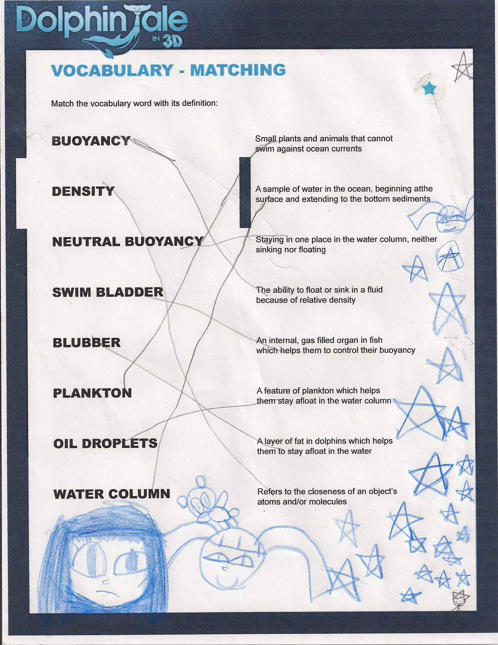 Bill Nye Buoyancy Worksheet