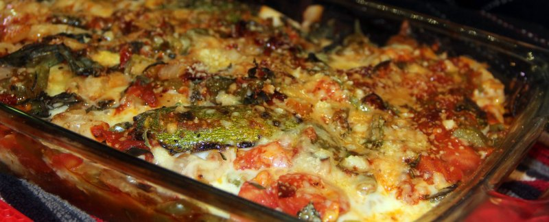 Grill to Oven Squash and Zucchini