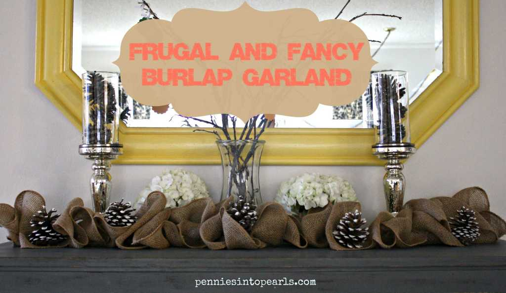 Burlap Garland Featured