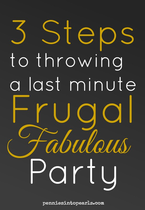 3 Steps Frugal Party Pin