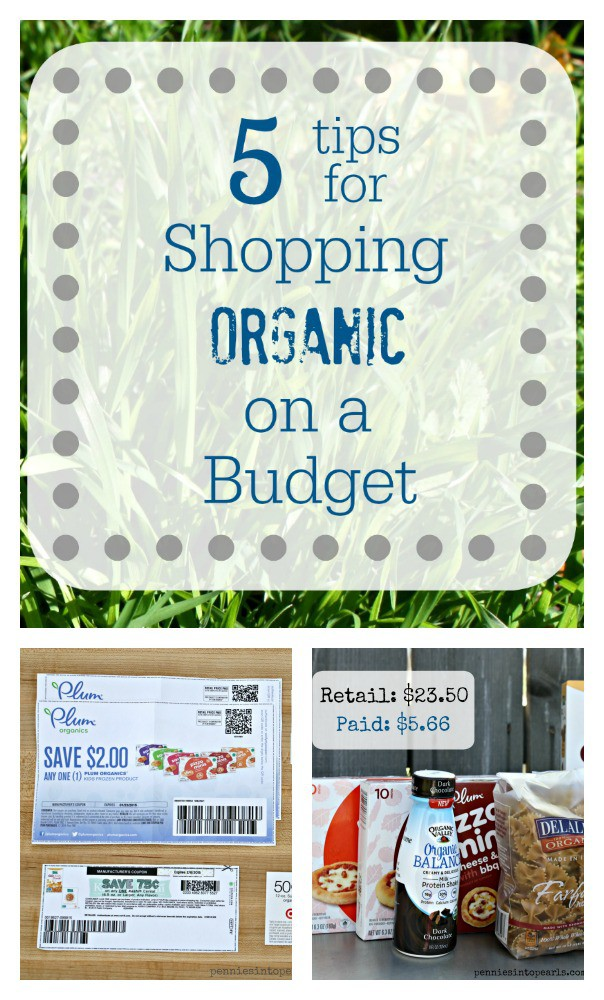 Organic Shopping Collage