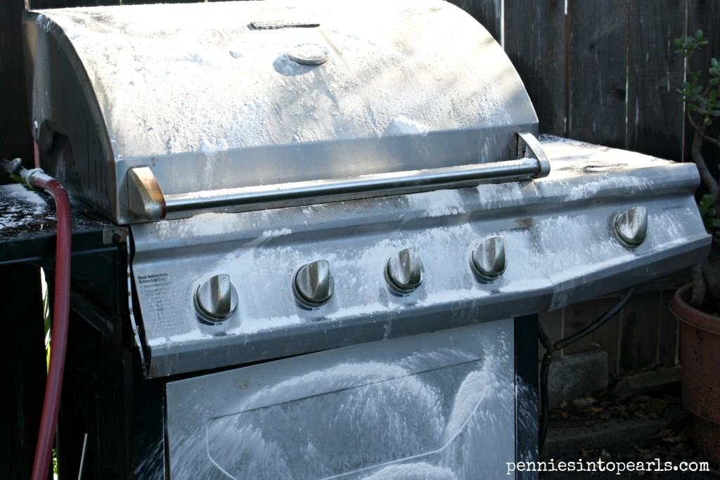 BBQ Cleanup Soaped
