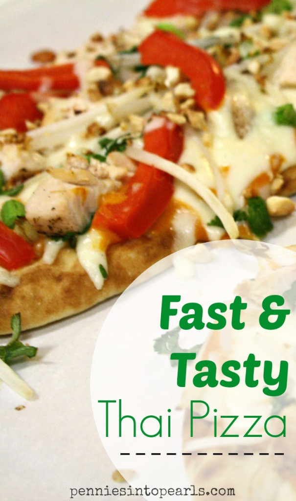 Fast and Tasty Thai Pizza