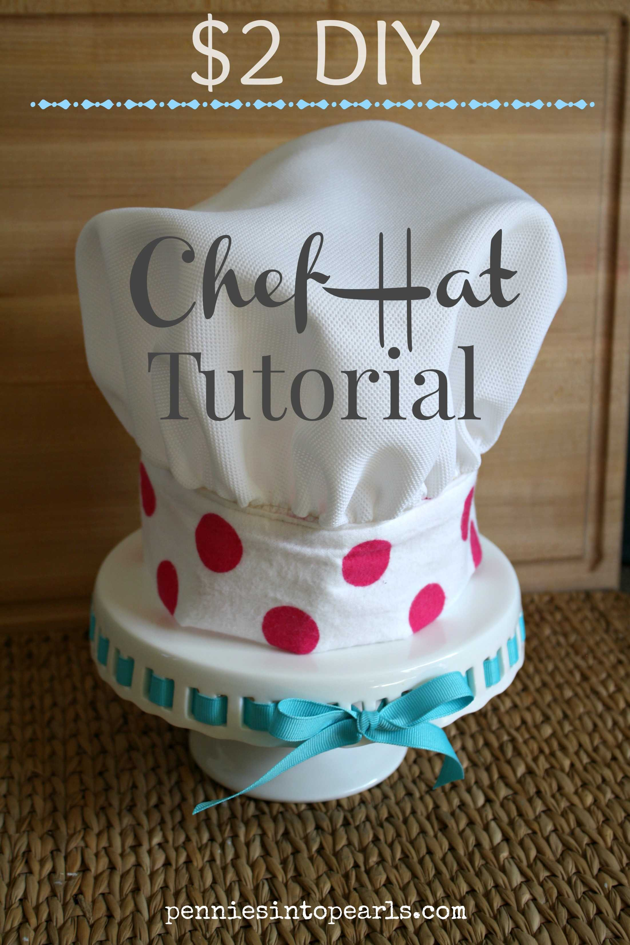 2 chef hat tutorial