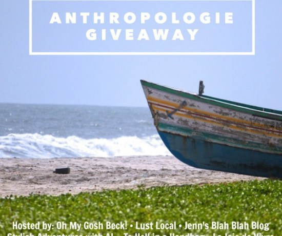 Anthropology Giveaway - penniesintopearls.com