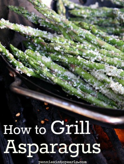 Best of all the Grilled Asparagus Recipes - penniesintopearls.com - follow these tips on how to grill asparagus to top off the perfect meal!