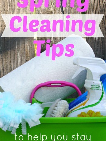 Spring Cleaning Tips - penniesintopearls.com - Easy tips to follow for your spring cleaning checklist. Follow these spring cleaning tips to help you stay on budget and stay clam