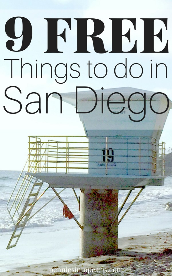 Have plans to visit San Diego on a budget? This local's list of free things to do in San Diego is going to entertain your family the entire vacation on a budget!
