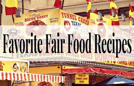 Fair Food Recipes for at Home - penniesintopearls.com - 10 of the tastiest fair food recipes for you to make at home all year long! All the best flavors for the fair for at home.