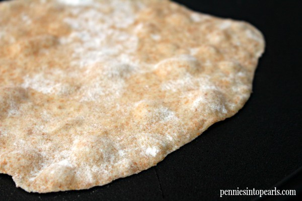 Homemade Wheat Tortillas - penniesintopearls.com - Easy recipe to make delicious homemade wheat tortillas. You won't ever want to buy tortillas again!