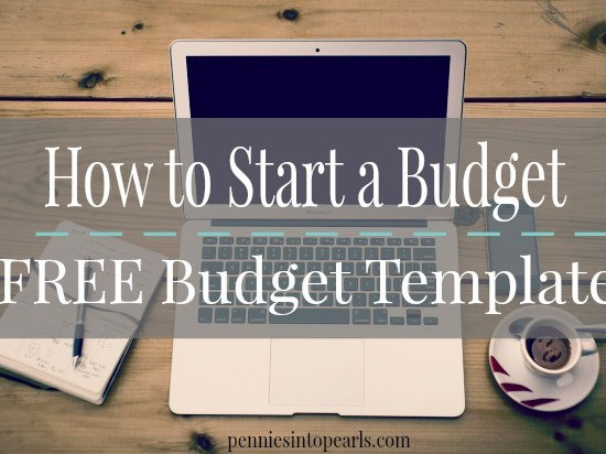 Pretty Penny Budget Template - penniesintopearls.com - Free digital budget template to make starting your budget and keeping track of your monthly budget and bills easy!
