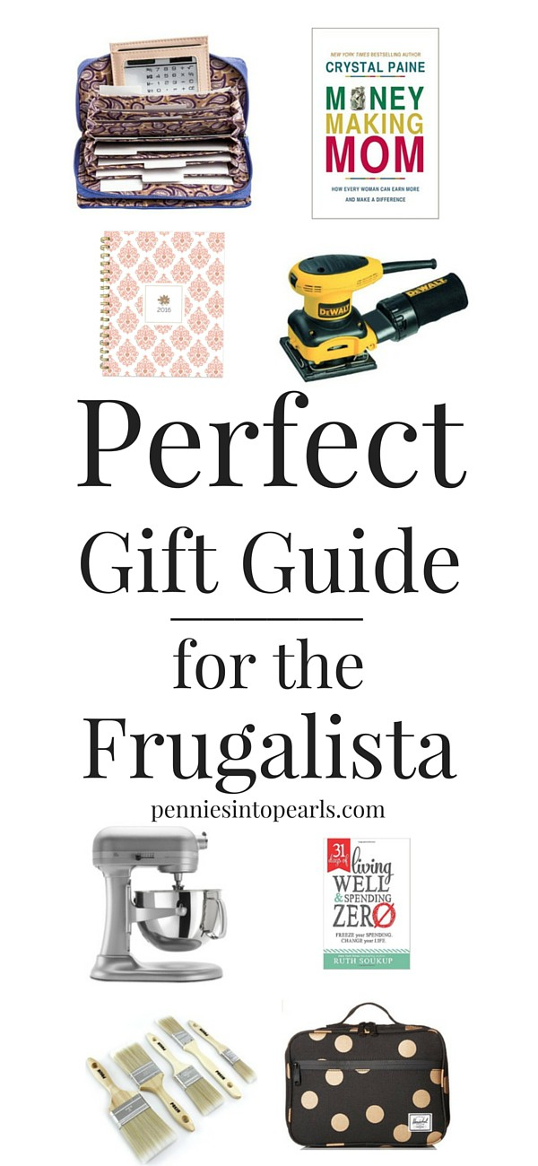 Perfect Gift Guide for the Frugalista - If you or someone you know love saving money then this gift guide is exactly what you need! Perfect gift guide for anyone who loves to save money!