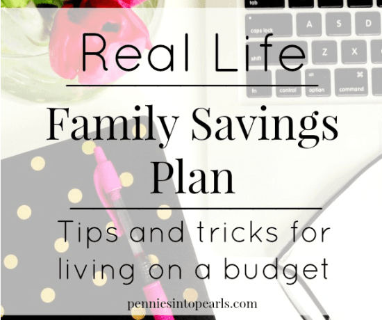 Family Finance Plan - penniesintopearls.com - Follow our real life family finance plan to find inspiration and tips for your own family finance plan!