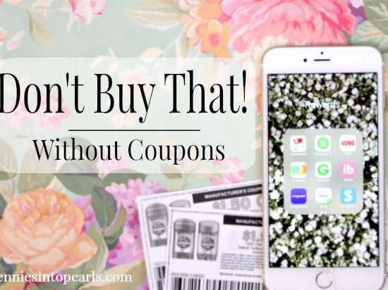 DO NOT buy any of these 10 items ever again unless you have a coupon to go with it! If you want to save money, this is a super easy way to cut spending on your grocery budget! Easy casual couponing tips!