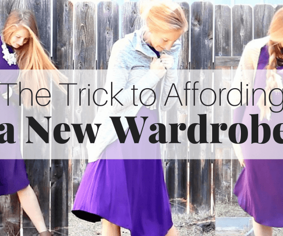 This simple idea to find new and cheap outfit ideas will help you create an entire new wardrobe! There is one easy thing you can do to afford a new wardrobe and it's probably not what you think. Finding cheap outfit ideas for winter, spring, summer, or fall, wont be a problem even if your budget is tight!